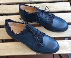 Christmas 2016 #blue #shoes #oxfords #mauroleone