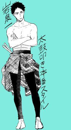 Iwaizumi Hajime - Haikyuu!! / HQ!!