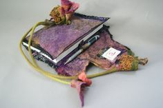 Nuno Felted Journal Cover with Jean Gauger