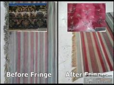 What Method Used in Cleaning a Stripe Rug
