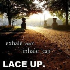 lace up #running #inspiration -- run run run!