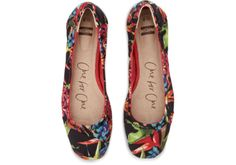 #TOMS Birds of Paradise Women's Ballet Flats. Inspired by travels to the tropics. Where will you take them?