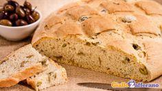 Pane alle olive / Farina grano tenero 0