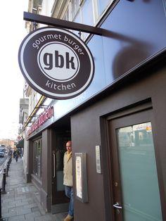 gbk - Gourmet Burger Kitchen