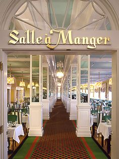 "Main Dining Room by Grand Hotel - Mackinac Island-- might look familiar since it was in ""Somewhere in Time"""