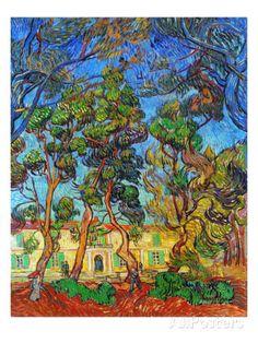 Van Gogh: Hospital, 1889 Giclee Print by Vincent van Gogh at AllPosters.com