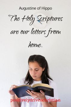 Quote: the holy scriptures are our letters from home. This is too truw! Positive Bible Verses, Powerful Bible Verses, Encouraging Verses, Bible Verses About Love, Scripture Quotes, Scriptures, Verses About Strength, Letters From Home, Bible Studies For Beginners