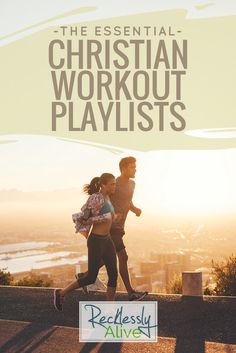 Looking for awesome Christian music to inspire your work out? I have you covered with 5 playlists - Christian Workout, Jesus Lifting, Jesus Cardio, and Jesus Running! Show some self-love and get some exercise! Prayers and how to pray Christian Songs, Christian Workout Songs, Christian Music Playlist, Workout Music, Running Workouts, Song Workouts, Exercise Workouts, Running Tips, Way Of Life