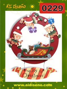 Navidad 2014 | maderacountry.mx Biscuit, Christmas Wood Crafts, Christmas Paintings, Painting Inspiration, Decorative Plates, Santa, Xmas, Joy, Quilts