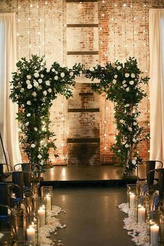 Rustic Wedding Decorations Awesome Tricks - Dazzling tips to make and turn it into a really stunning and amazing rustic wedding. rustic wedding decorations decoration ideas shared on this date 20181212 , decoration pin reference 3016680940 Rustic Wedding, Our Wedding, Dream Wedding, Trendy Wedding, Fall Wedding, Winter Wedding Arch, Altar Wedding, Decor Wedding, Small Winter Wedding