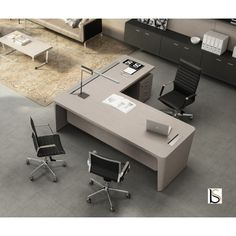 Direction Desk with Return manufactured by Officity and available at Bu … – Luxury Office Designs Office Cabin Design, Law Office Design, Office Furniture Design, Office Interior Design, Office Interiors, Home Interior, Modern Office Desk, Office Set, Office Workspace