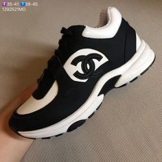 cc3f99ab647ab7 Chanel unisex man woman couple shoes casual sport sneakers tennis trainers  high tops