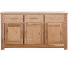 Buy Schreiber Harbury Large Sideboard - Oak at Argos.co.uk, visit Argos.co.uk to shop online for Sideboards and dressers, Living room furniture, Home and garden