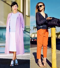 11 Chic Color Combinations To Wear This Spring via @WhoWhatWear