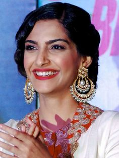 Sonam Kapoor's statement earrings