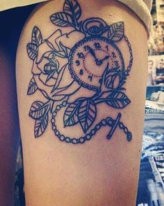 thigh tattoos | Tattoo Ideas Central