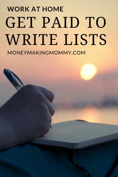 If you're looking for work at home in the freelance writing niche, but not sure if you have the skills or unsure what you really want to do. Check out list writing. There are several websites that will pay writers to create lists. You can earn right from home if you are a great list maker. Find out more about what types of lists are wanted and who pays. #workathome #freelancework #freelancewriting #remotework Work From Home Companies, Work From Home Opportunities, Work From Home Jobs, Make Money From Home, Way To Make Money, Home Based Business, Business Tips, Craft Business, Online Business