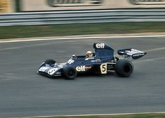 At the German Grand Prix 1973 Jackie Stewart celebrated the last of his 27 victories.