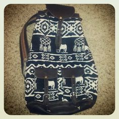 New Peruvian boho backpack.  In love