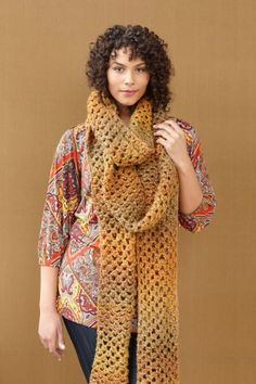 Winding Trails Scarf.