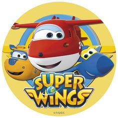 Oblea Super Wings 2 - Dekora Planes Birthday, May Birthday, Baby First Birthday, 4th Birthday Parties, School Decorations, Birthday Decorations, Circo Do Mickey, Airplane Party, Backdrops For Parties