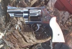 I am a big fan of handguns with adjustable sights. Custom Revolver, Revolver Rifle, Custom Guns, Smith And Wesson Revolvers, Smith N Wesson, Awesome Guns, Cool Guns, Urban Survival, Home Defense