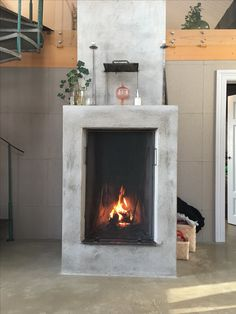 Fire place @hannasinslag #interior #fireplace