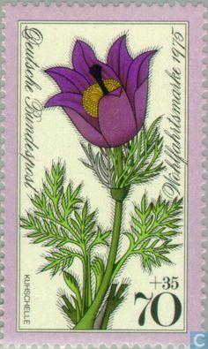 Germany, Federal Republic [DEU] - Alpine Flowers 1975