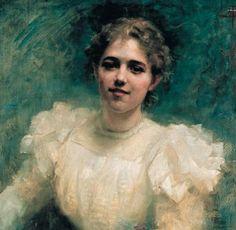 Margaret 'Madge' Frary Miller (1879–1950) by Nathaniel Hughes John Baird