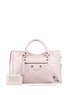 BALENCIAGA Classic City Bag in Powder pink