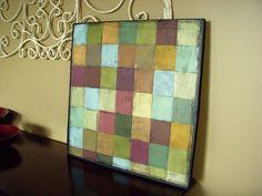 Paint Chip Art Tutorial  http://hopestudios.blogspot.com/2010/07/paint-chip-mosaic-tutorial-tuesday.html