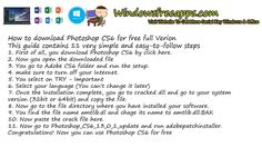 Hello guys, today I'm gonna show you How to get Photoshop CS6 for free full version