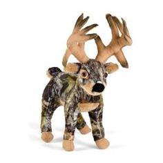 What a rack on this camo deer stuffy.