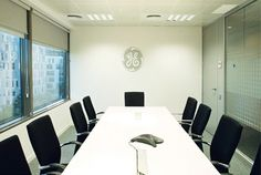 Another one of GE's conference rooms