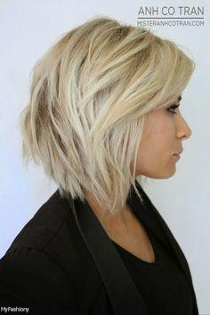 Medium Straight Hair Back View 2015-2016 | Moda 2014-2015