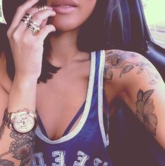 Swag Girls With Tattoos Tumblr