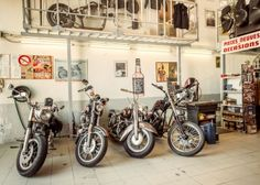 Documentation of a Harley garage in France. Made by FUXPIX Harley parking.jpg