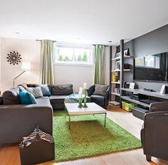 The Little-Known Secrets to Cozy Basement Family Room Reveal - homevignette Basement Guest Rooms, Cozy Basement, Basement Windows, Basement Makeover, Basement Renovations, Home Remodeling, Basement Ideas, Basement Apartment, Basement Plans