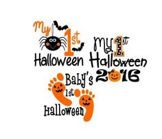 my 1st halloween svg dxf ps ai and pdf by boodlebuggraphics
