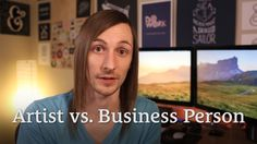 Artist vs. Business Person – Must They Be Exclusive? http://seanwes.tv/153