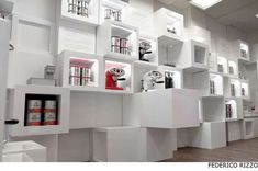 Modular Cubed Pop-Ups - Illy Temporary Shop by Caterina Tiazzoldi Can Be Adapted to Different Areas (GALLERY)
