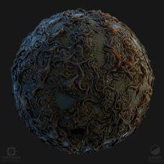 ArtStation - Parasitic Worms, Daniel Thiger