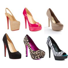 """""""In a world of flats, be a stiletto ... a totally fabulous platform stiletto""""!"""