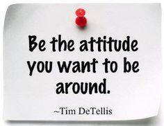 Positivity can go along way! #attitude #inspiration
