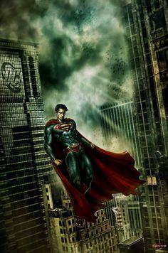 SUPERMAN by WhileyDunsmoreArt.deviantart.com on @deviantART