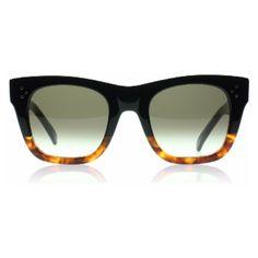 2ea4a44b3ac Celine Catherine Small Sunglasses   Catherine Small Black And Havana 41089    UK