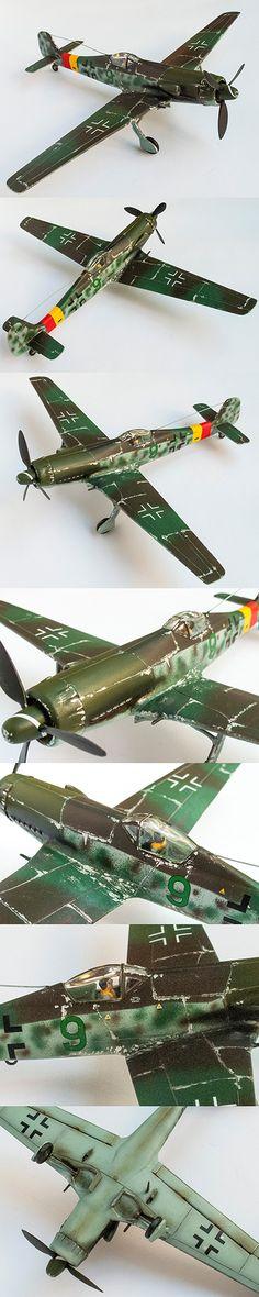 Focke Wulf TA-152 by Korhan AKBAYTOGAN