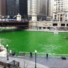 Chicago ..St. Patrick's Day