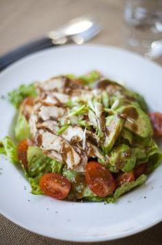 Spicy Chicken and Avocado Salad, YUM