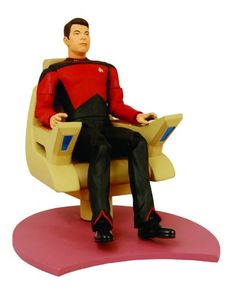Diamond Select - Star Trek TNG figurine William T. Riker in Command Chair 18 cm Diamond Select http://www.amazon.com/dp/B0012V5O20/ref=cm_sw_r_pi_dp_Kn16vb1G6PQ40